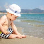 Infant on a beach
