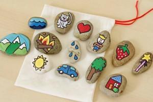 manualidades con piedras